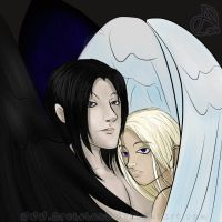 Dimitri x Sariel by ArshnessDreaming