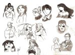 sketch FMA's characters by ManuSauci