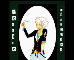 Toshiro Hitsugaya by Spintherella
