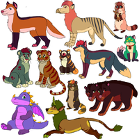 Animal Adopts 7 -OPEN- by Miffet