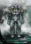 Power armor concept by Buashei