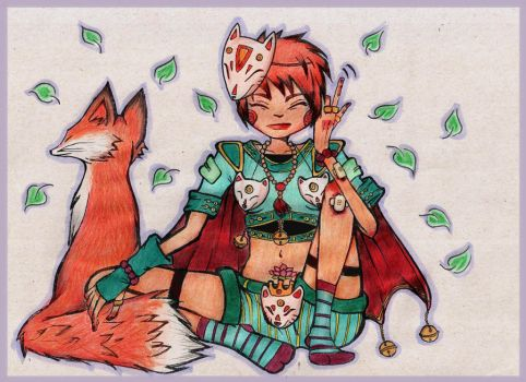Shaman Fox by tear-house