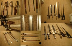 Edged Weapons by GeneralVyse