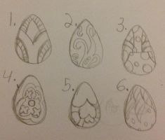 2 point dragon egg adopts! by Equinoxthealicorn