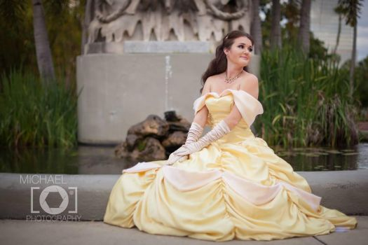 Princess Belle from Beauty and the Beast by Clair85