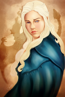 Happy Mother's Day from the Mother of Dragons by PrinceCaeruu