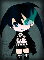 """BlacK Rock Shooter"" Chibi Vector by abramoxd"