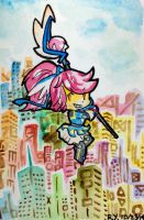 Bright city by jell-o-cat