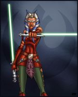 Ahsoka Tano by richmbailey