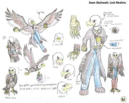 Sean Skyhawk: Lost Realms by Seanhawk23