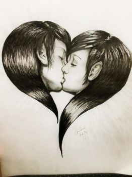 the kiss by tonez2