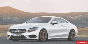 Merc Render Coupe Vossen white by Glacius-Projects