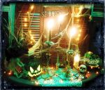 Halloween Altar by grimdeva