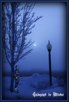 Lampost In Winter by T0xicStorm