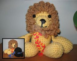 Hogwarts Amigurumi - Lion by WireMySoul