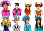 Youtuber Hunger games by fred94951