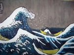 The Great Wave Off Kanagawa by kimberlyg