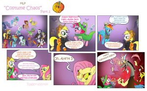 MLP: Costume Chaos Part 2 by raggyrabbit94