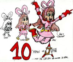 10 Years of Jessie by Urvy1A