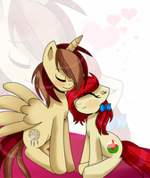Dream Catcher and Diamond Rose (AT) by X-Emo-Vampire-X