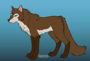Wolf-Make OC- Wolf Mongoose- Brown Moon by Coraline15