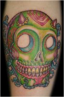 Sugar skull by TristaMarie