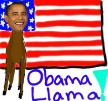 Teh Obama Llama by rockred12