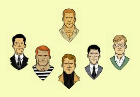 Doc Savage and Friends by scottygod