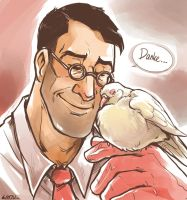 doc and dove by Lintufriikki