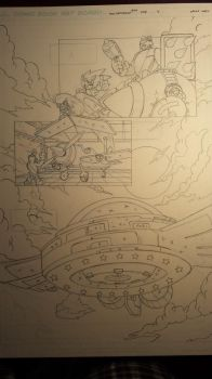 sonic comic origins rotor pencils pg4 by trunks24