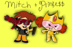 Colored- MBHGBTTR 2- Princess and Mitch by Brashgirl901