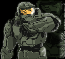 Master Chief by geogant