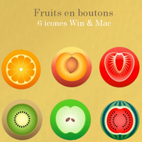 Fruits en boutons by patate18