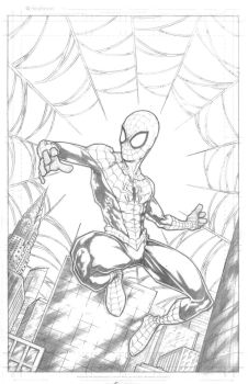 The Amazing Spider-Man Pencils by EricKenney