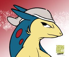 RihleeX the Typhlosion CRL by Raccooncube