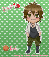 Chibi Kentin By Xiannu - Colors by eikojonevans