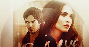 Ian Somerhalder and Megan Fox by LenaIsabell2010
