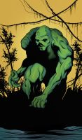 Swamp Thing by Greathouse
