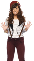 demi lovato PNG. by Luquy