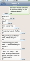 The Personal Text Log of Dr. John Watson Pt. 6b by blissfulldarkness