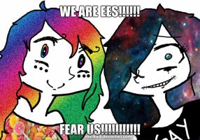 WE ARE EES!!!! FEAR US!!!!!!!!!!!!11 by x-MiShkA-x