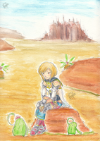 FFXII - the desert princess by Frog-of-Rock