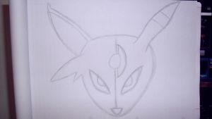 Espeon-Umbreon Sketch by moguinho
