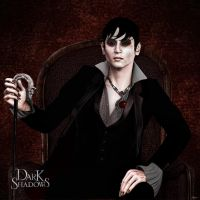 Barnabas Collins by Ajulianm