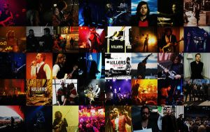 The Killers Collage Wide by igelkotten