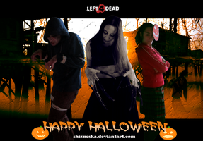 Left 4 Dead halloween group by ShiZucsKa