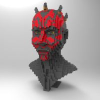 LEGO Darth Maul by JHoagland