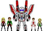 Robotech Defense Forces 'Wrecker Squadron' by Picassamia