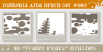 Brushset 02: Water Fears by Ruthenia-Alba