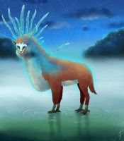 Spirit of the forest - May 2015 Calendar by Falena-ananke